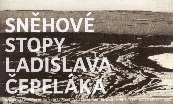Sněhové stopy Ladislava Čepeláka