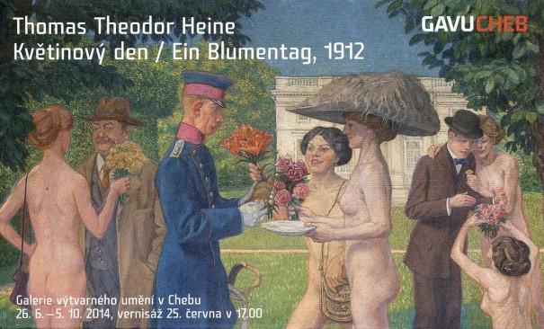 Thomas Theodor Heine: Květinový den / Ein Blumentag, 1912