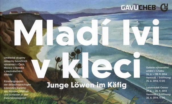 Mladí lvi v kleci / Junge Löwen in Käfig