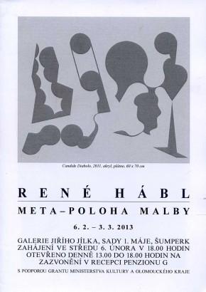René Hábl: Meta-poloha malby