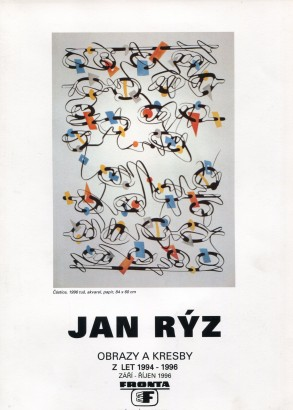 Jan Rýz: Obrazy a kresby z let 1994 - 1996
