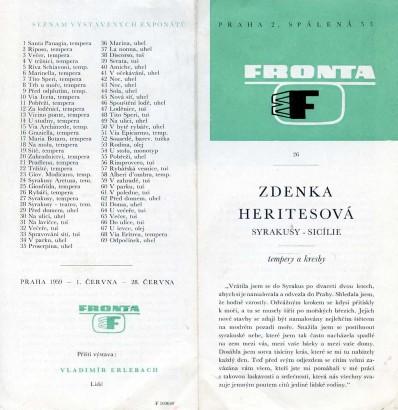 Zdenka Heritesová: Syrakusy - Sicílie