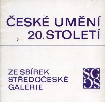 České umění 20. století ze sbírek Středočeské galerie
