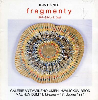 Ilja Sainer: Fragmenty 1987-93