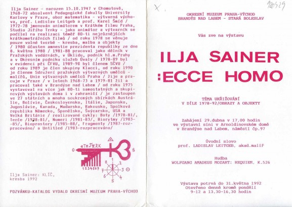 Ilja Sainer: Ecce homo