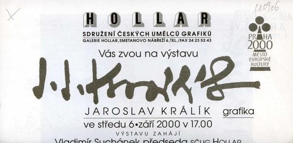 Jaroslav Králík: Grafika