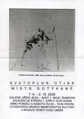 Svatopluk Otisk: Místo dotýkané