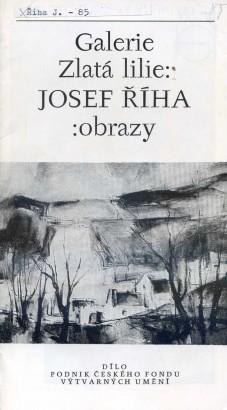 Josef Říha: Obrazy