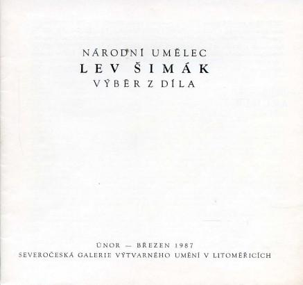 Lev Šimák: Výběr z díla