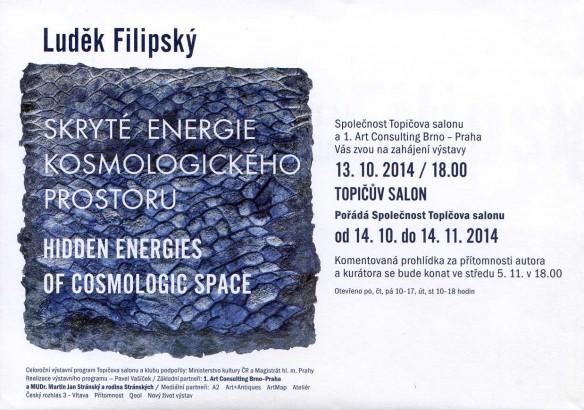 Luděk Filipský: Skryté energie kosmologického prostoru / Hidden Energies of Cosmologic Space