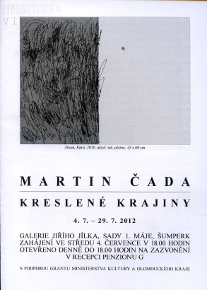 Martin Čada: Kreslené krajiny