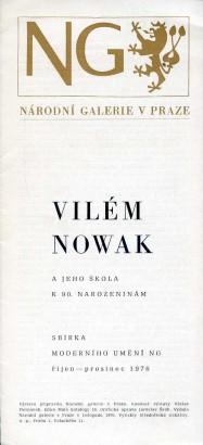 Vilém Nowak a jeho škola k 90. narozeninám