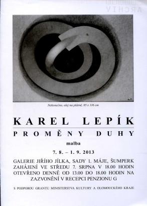 Karel Lepík: Proměny duhy