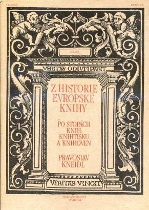 Kneidl, Pravoslav - Z historie evropské knihy