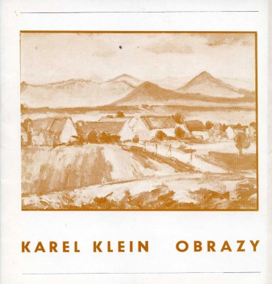 Karel Klein: Obrazy
