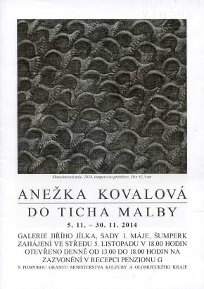 Anežka Kovalová: Do ticha malby