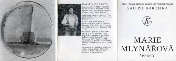 Marie Mlynářová: Šperky