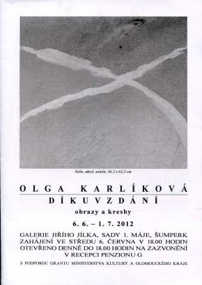 Olga Karlíková: Díkůvzdání