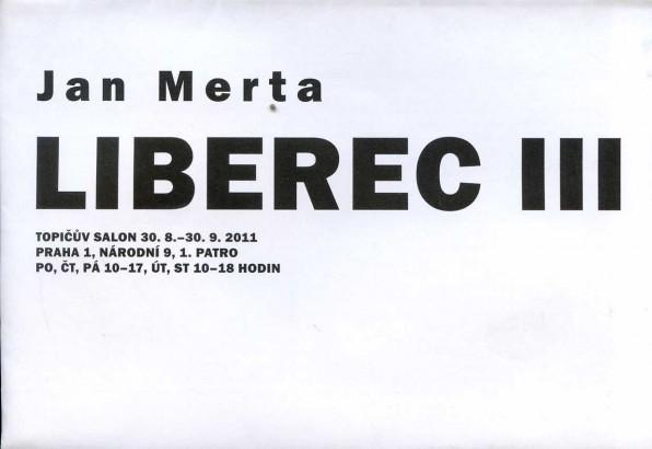 Jan Merta: Liberec III