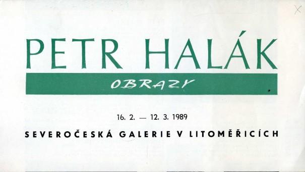 Petr Halák: Obrazy