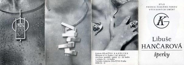 Libuše Hančarová: Šperky