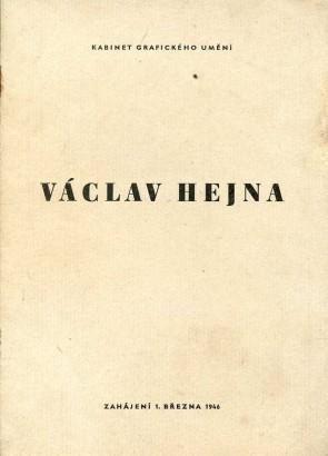 Václav Hejna: Akvarel, kresba inkoustem, kresba tuší, kvaš