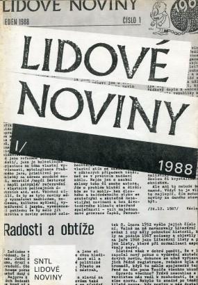 Lidové noviny 1988