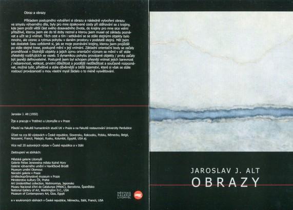 Jaroslav J. Alt: Obrazy