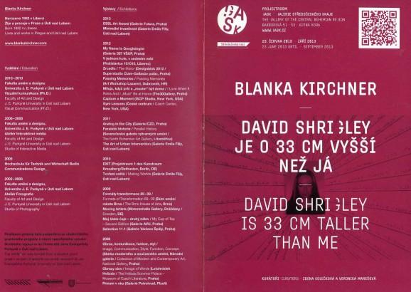 Blanka Kirchner: David Schigley je o 33 cm vyšší než já / David Schigley is 33 cm taller than me