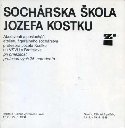 Zajíček, Štefan - Sochárská škola Jozefa Kostku