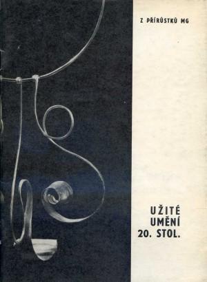Z přírůstků užitého umění 20. století