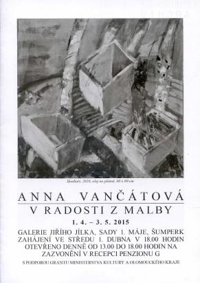 Anna Vančátová: V radosti z malby