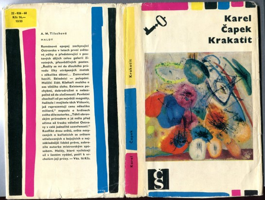 Čapek, Karel - Krakatit