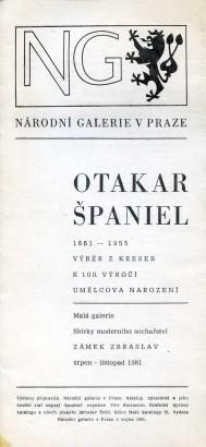 Otakar Španiel: Výběr z kreseb k 100. výročí umělcova narození