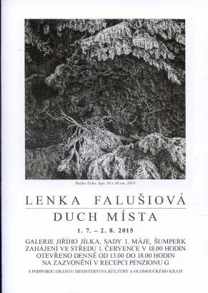 Lenka Falušiová: Duch místa
