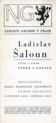 Ladislav Šaloun 1870-1946: Výběr z kreseb