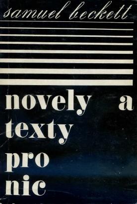 Beckett, Samuel - Novely a texty pro nic