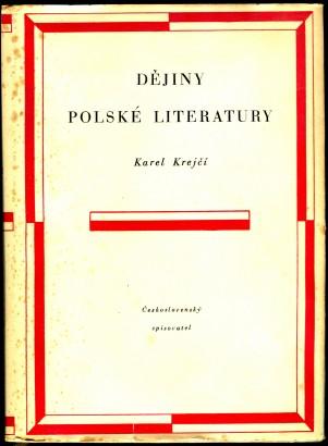 Krejčí, Karel - Dějiny polské literatury