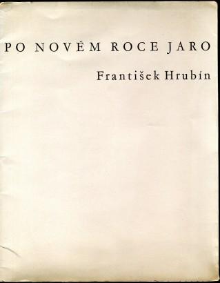 Hrubín, František - Po novém roce jaro