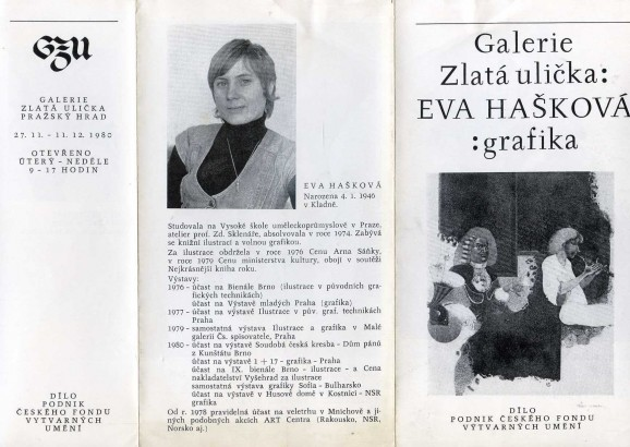 Eva Hašková: Grafika