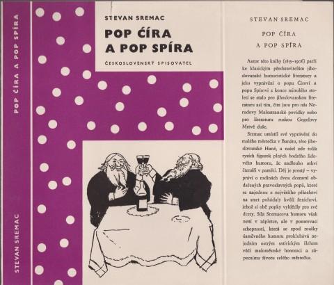 Sremac, Stevan - Pop Ćíra a pop Spíra