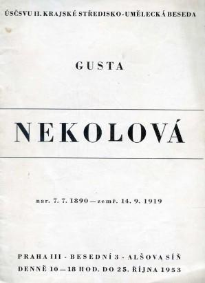 Gusta Nekolová