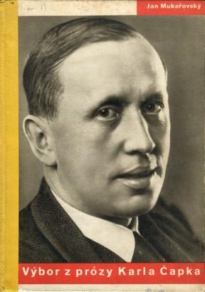 Mukařovský, Jan - Výbor z prózy Karla Čapka