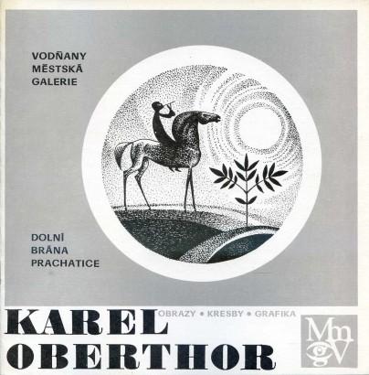 Karel Oberthor: Obrazy, kresby, grafika
