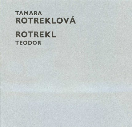Tamara Rotreklová, Teodor Rotrekl: Obrazy a gobelíny 1970-80