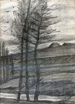 Adolf A. Zahel: Zeichnungen / Kresby