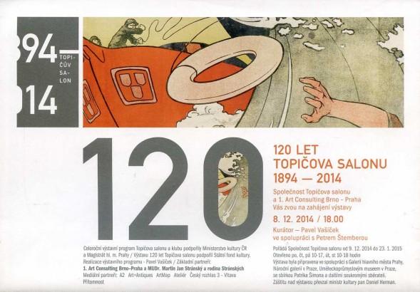 120 let Topičova salonu 1894-2014