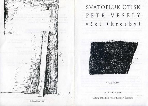 Svatopluk Otisk, Petr Veselý: Věci (kresby)