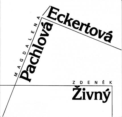 Magdalena Pachlová-Eckertová: Keramika, Zdeněk Živný: Obrazy