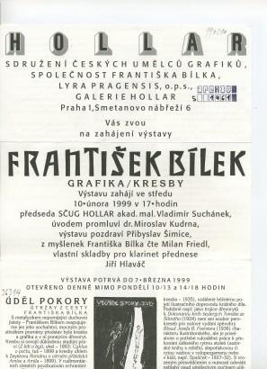 František Bílek: Grafika / kresby